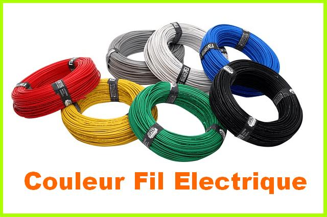 code couleur fil electrique branchement